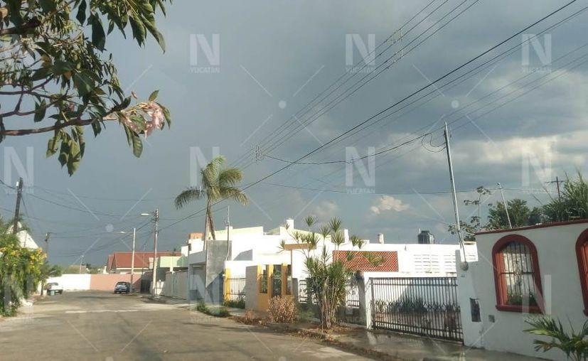 Las precipitaciones fueron leves. (Novedades Yucatán)