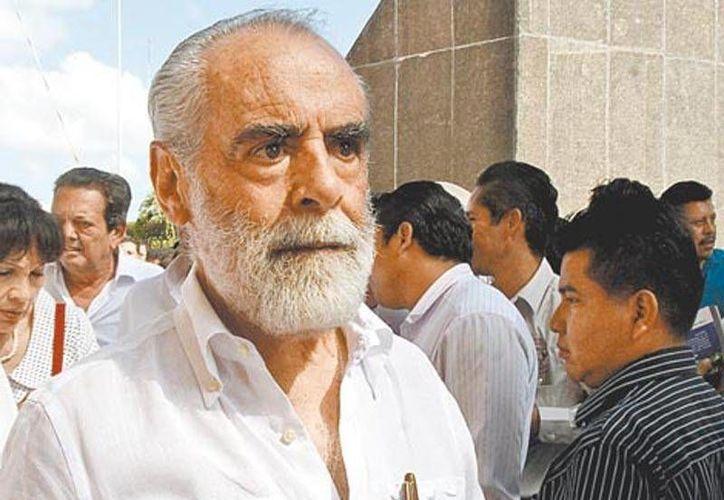 El ex candidato a la presidencia de la Republica, Diego Fernandez de Ceballos (Agencias)
