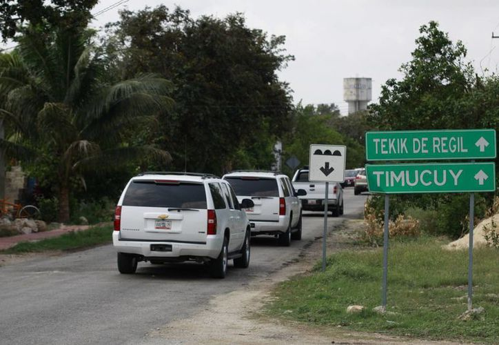 La vialidad se ha vuelto más lenta y transitada en las últimas horas.(José Acosta/SIPSE)