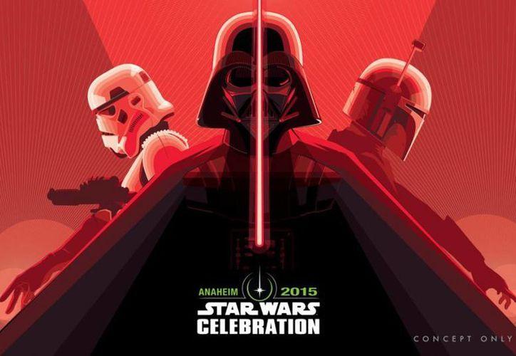 """El """"Star Wars Celebration VII"""" es el evento más esperado del año de los fanáticos de la saga. (Agencias)"""