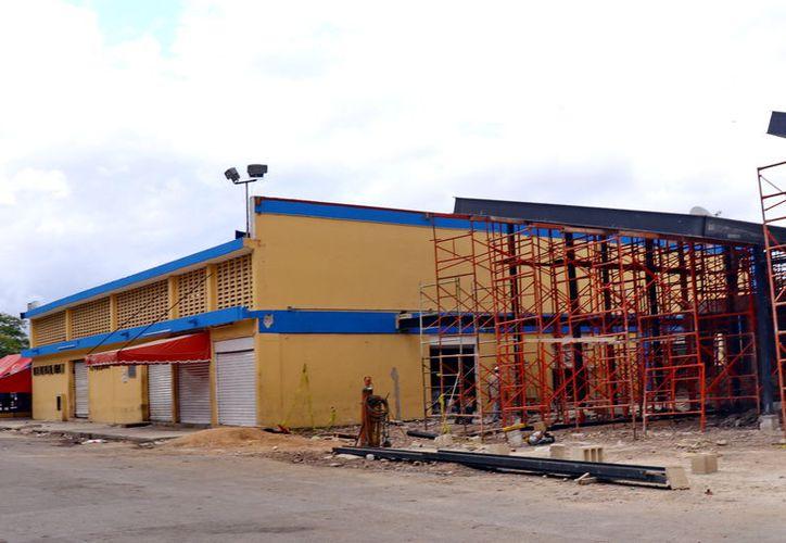 El mercado de Chuburná es uno de los edificios que se presente remodelar. (Foto: MIlenio Novedades)