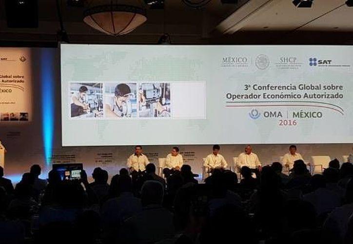 Integrantes de organismos internacionales de 77 países se reúnen en Cancún del 11 al 13 de mayo. (Cortesía/SAT)