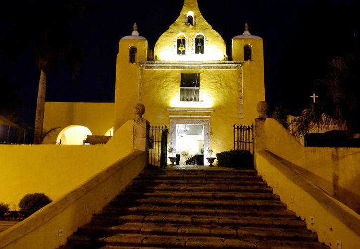 La Ermita de Santa Isabel es una pequeña edificación que contrasta con la importancia que tuvo hace más de tres siglos para todo peregrino católico que salía de la ciudad rumbo a Campeche. (José Acosta/Milenio Novedades)