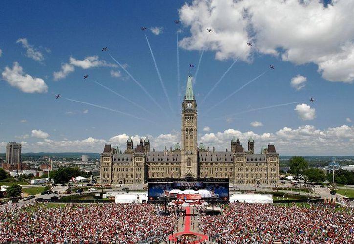El país realizó la celebración del Día de Canadá. (vanguardia.com)