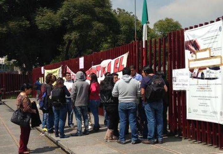 El paro de labores es en todas las unidades académicas, según determinó la Asamblea Generalñ Politécnica. (Foto: Milenio)