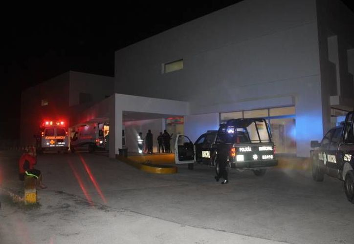 Un taxista de Playa del Carmen fue atacado con un arma de fuego en la madrugada de este lunes. (Redacción/SIPSE)
