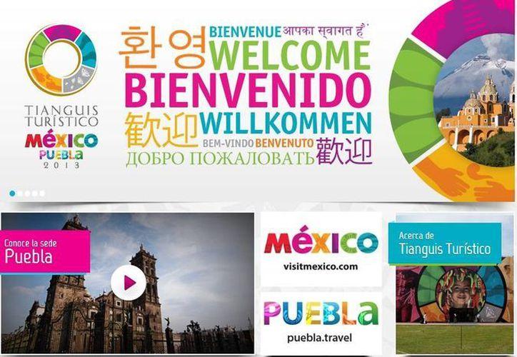El evento se llevará a cabo del 17 al 20 de marzo en la ciudad de Puebla. (tianguisturisticomexico.com.mx)