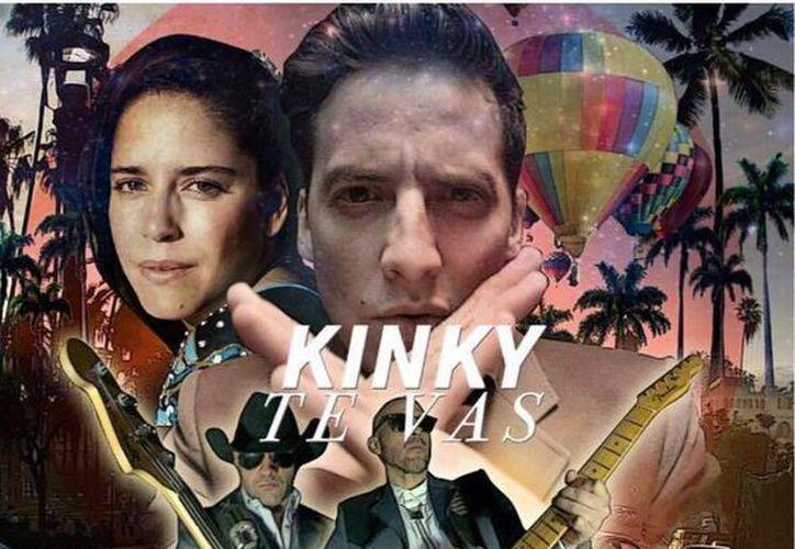Kinky estrenó el videoclip de 'Te Vas', canción que será incluida en el próximo álbum de la agrupación regiomontana. (Foto tomada de Facebook/Kinky)