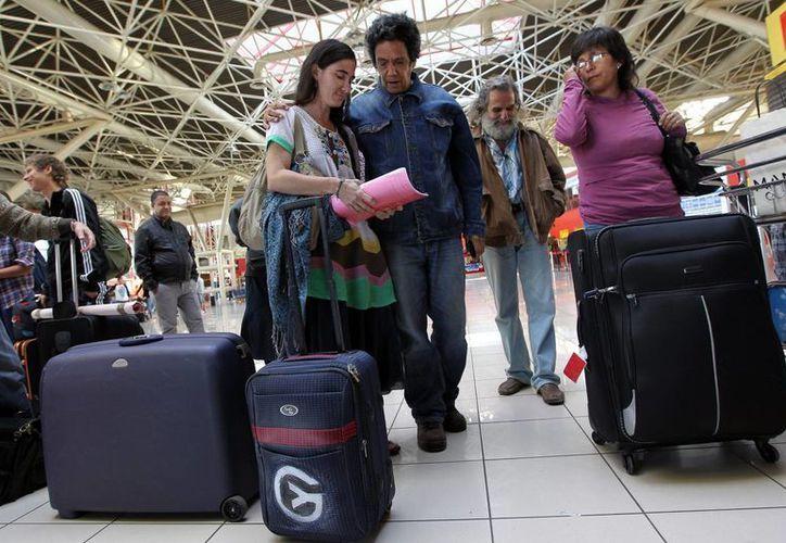 La bloguera Yoani Sánchez por fin sale  de Cuba. (EFE)