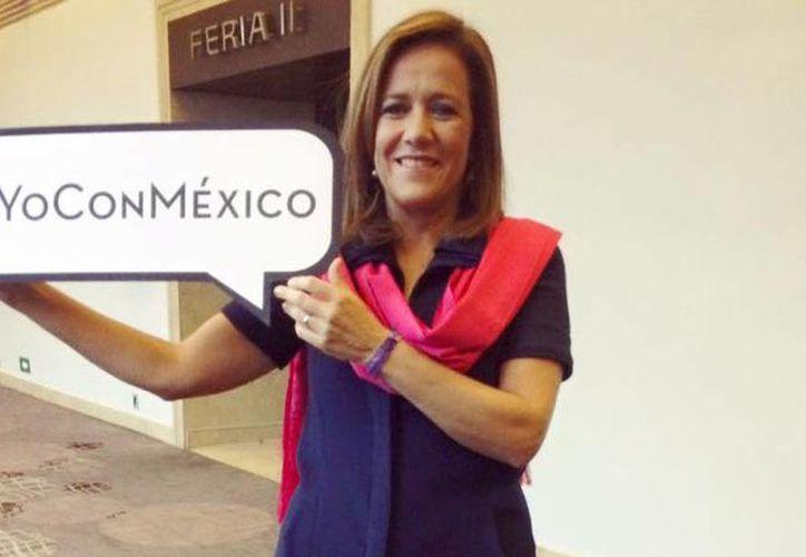 Las declaraciones de Margarita Zavala sobre el gobierno de Peña Nieto las realizó tras presentar la plataforma 'Yo Con México'. (facebook.com/MargaritaZavalaMX)