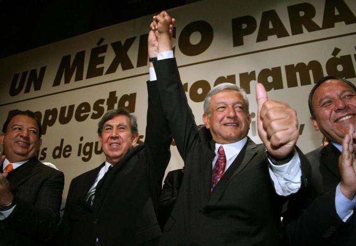 El documento firmado por Cárdenas y López Obrador fue publicado en  la página de internet lopezobrador.org.mx. (desdeabajo.org.mx)