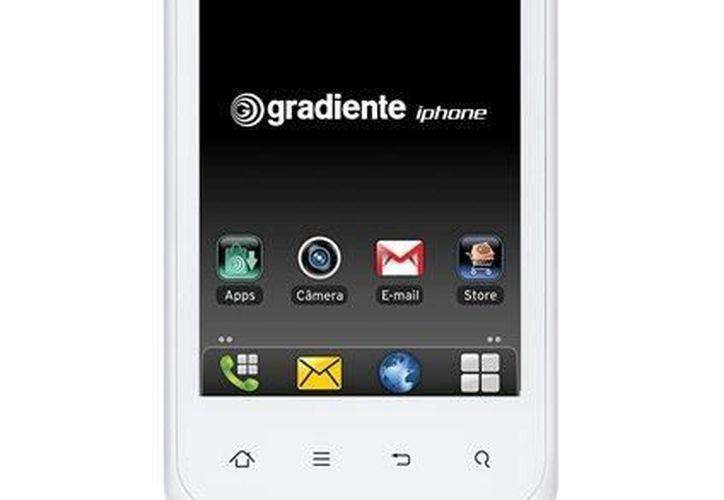 La empresa brasileña empezó a vender teléfonos bajo la marca iPhone el martes 19 de diciembre de 2012. (Agencias)