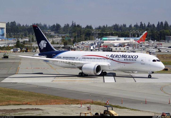 Las nuevas rutas fueron revelados por representantes de la empresa Aeromexico, durante una conferencia de prensa. (Foto de Contexto/Internet)