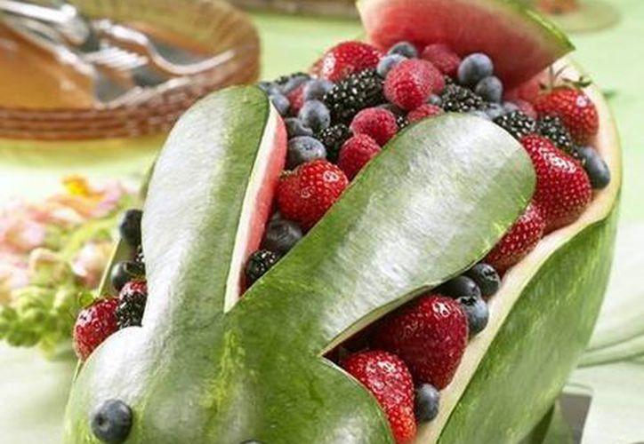 El concurso de esculturas en hielo y frutas será el próximo 26 de septiembre. (Contexto/Internet)