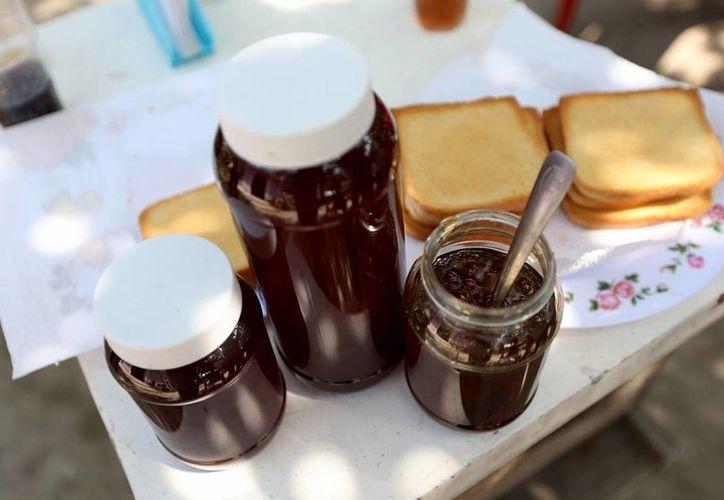 Ecatzingo, en el Estado de México, produce más de 70 toneladas de miel al año. (Notimex)