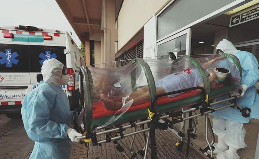 Por el momento, ya no hay espacio para pacientes con Covid en el Hospital Juárez del IMSS.