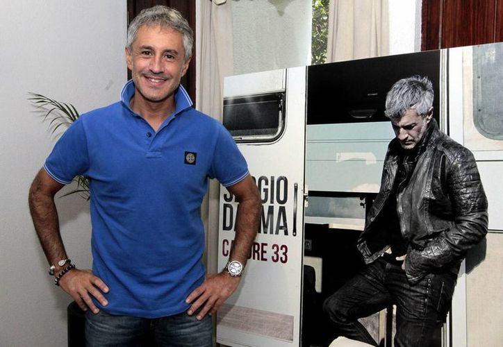 """Sergio Dalma, presentó su nueva producción discográfica """"Cadore 33"""". (Notimex)"""