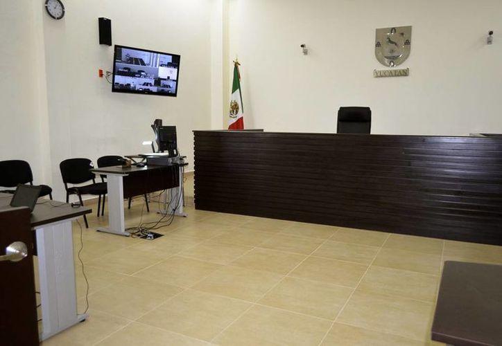 Las todavía recién estrenadas salas de juicio oral (foto) vuelven a abrirse para dos nuevos casos. (Cortesía)