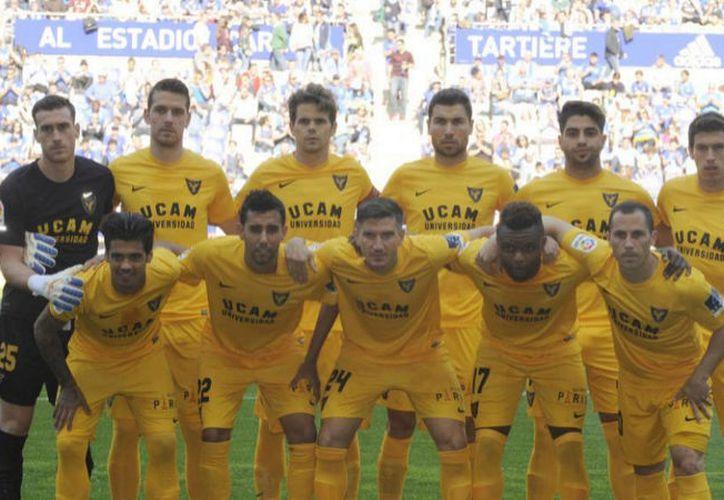 La situación del UCAM Murcia tras su descenso a Segunda B es más que complicada. (Javier García).