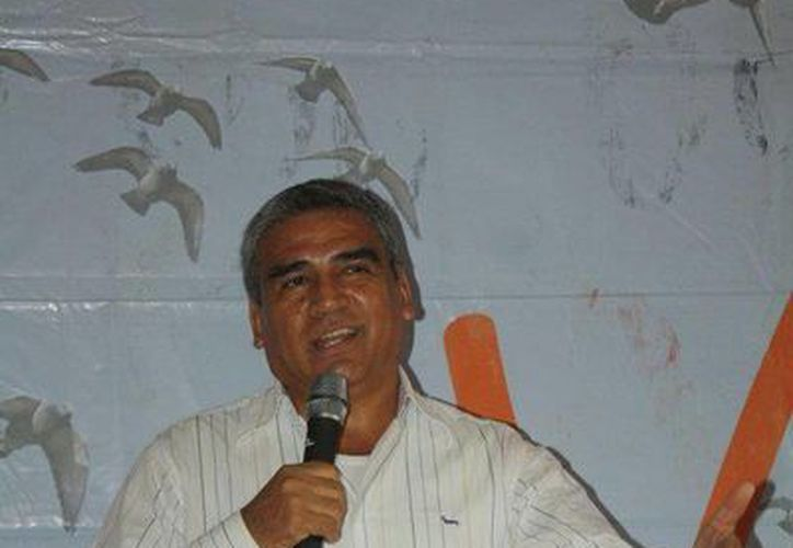 El diputado federal Rafael González Manríquez. (Facebook)