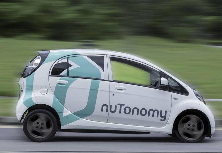 Los primeros vehículos de nuTonomy ya pasaron su primera prueba de manejo en la ciudad sin ningún incidente. (nuTonomy)