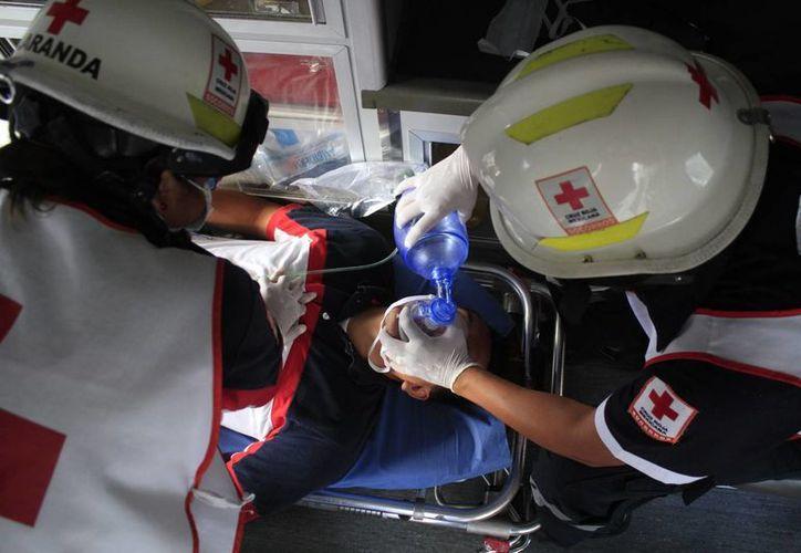La reanimación cardiopulmonar (RCP) es una técnica que cualquier persona puede realizar. (Sergio Orozco/SIPSE)