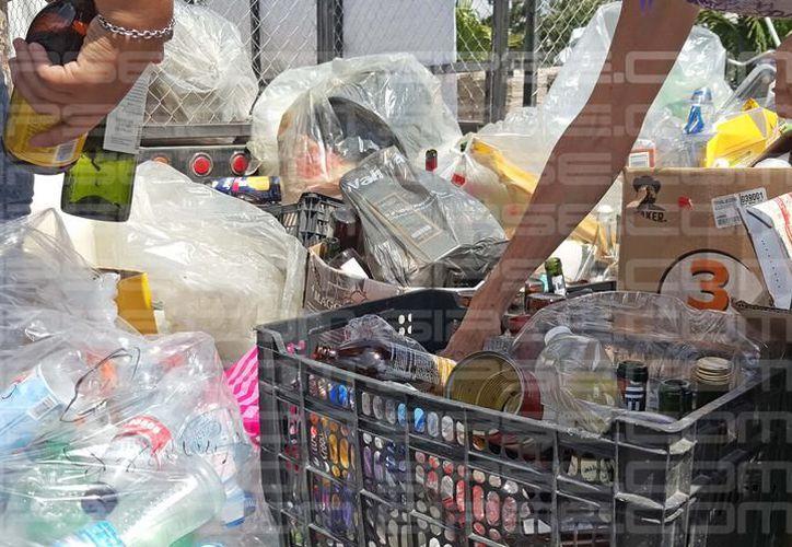 Cinco puntos fueron habilitados para recibir objetos reciclables. (Archivo/SIPSE).