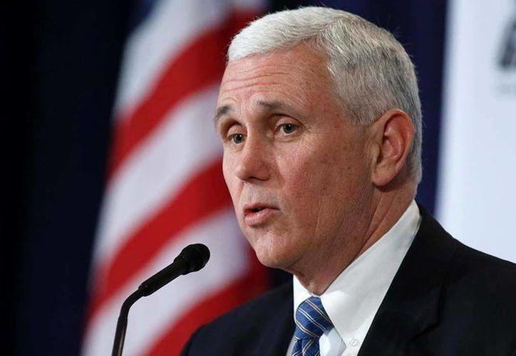 Luego de que el gobernador de Indiana, Mike Pence, promulgara una ley que favorecía la discriminación contra miembros de la comunidad LGTB, su estado se convirtió en blanco de una campaña de boicot económico. (Foto de archivo de AP)