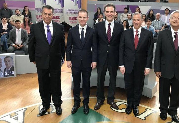 El debate se llevó a cabo en Tijuana.