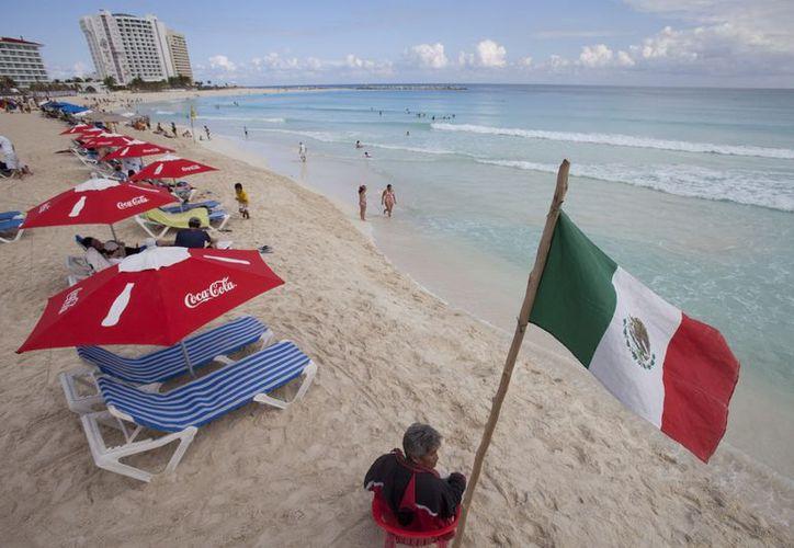 Playa Gaviota Azul, en la zona de Punta Cancún. (Archivo Notimex)