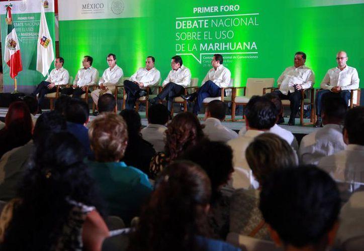 Inauguración del evento en la zona hotelera de Cancún. (Luis Soto/SIPSE)