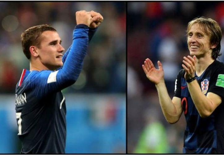 Griezmann y Modric, los favoritos para el Balón de Oro. (Foto: Agencias)