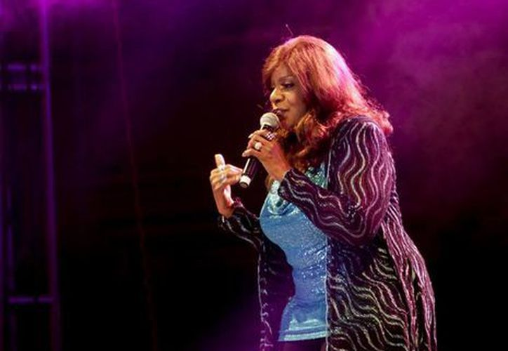Gloria Gaynor en Aguascalientes. (Notimex)