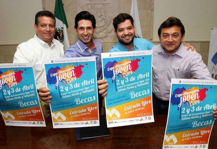 La Expo Alternatiiva Joven 2014 se realizará los días 2 y 3 de abril en el Centro de Convenciones Yucatán Siglo XXI. (Cortesía)
