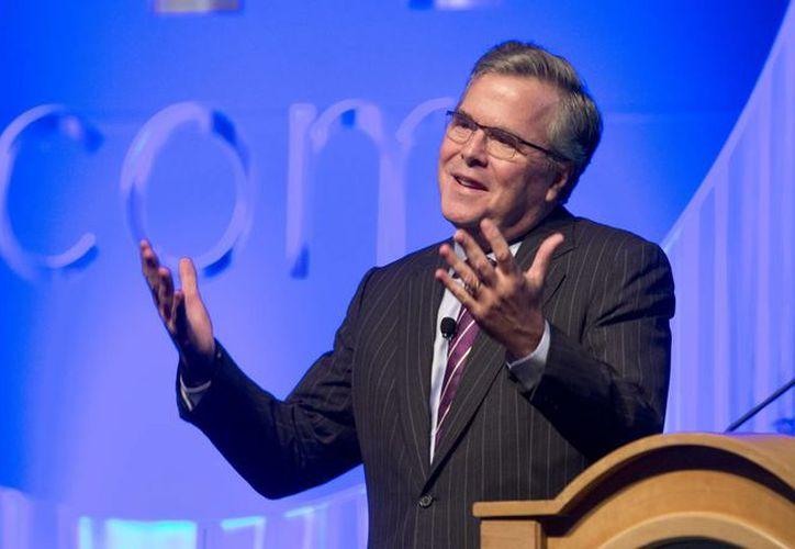 Jeb Bush es mencionado como la posible carta fuerte del Partido Republicano desde la derrota de Mitt Romney en 2012. (Archivo/AP)