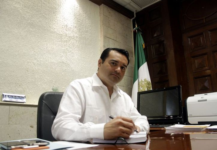 """El alcalde Renán Barrera Concha señaló que en Mérida  """"hoy tenemos más soluciones que problemas"""". (Christian Ayala/SIPSE)"""