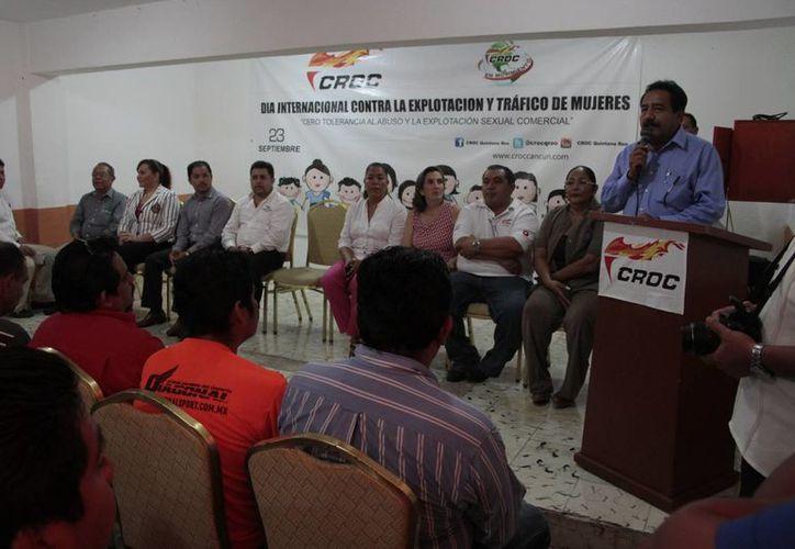 Se reunieron dependencias especializadas en materia de trata de personas. (Tomás Álvarez/SIPSE)