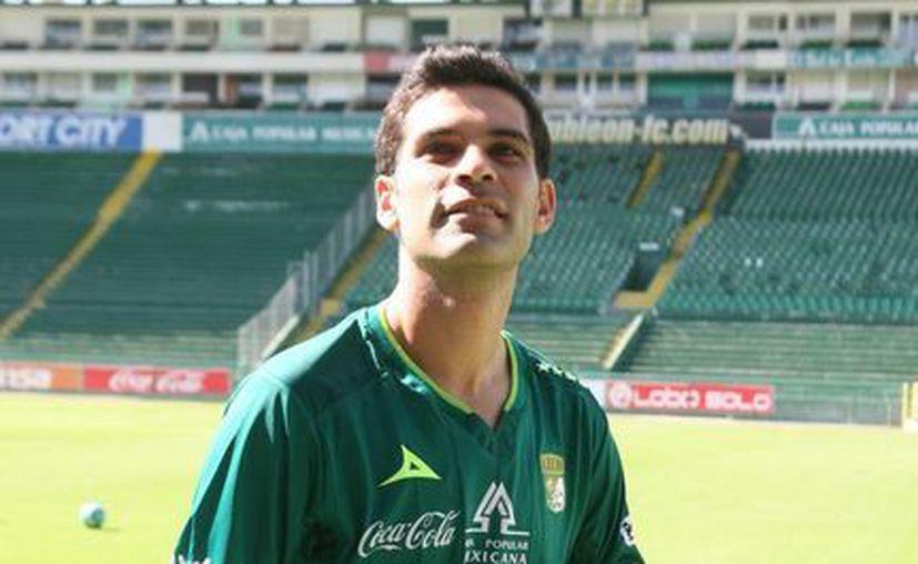 En diciembre pasado, Rafael Márquez, excapitán del Tri, fue presentado como titular de los esmeraldas del León. (Archivo Notimex)