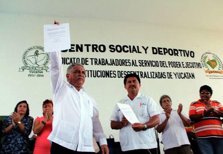 Jervis García Vázquez afirmó que la unidad en torno a su proyecto de trabajo es factor clave para aspirar a ocupar la dirigencia sindical para un nuevo periodo. (Milenio Novedades)