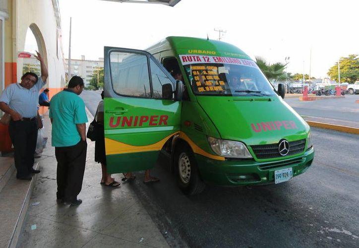 Uniper pondrá en operación dos nuevas unidades con airea acondicionado y WiFi. (Gustavo Villegas/SIPSE)