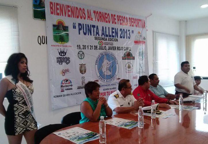 El torneo se presentó en rueda de prensa, en la Sala de Cabildos. (Rossy López/SIPSE)