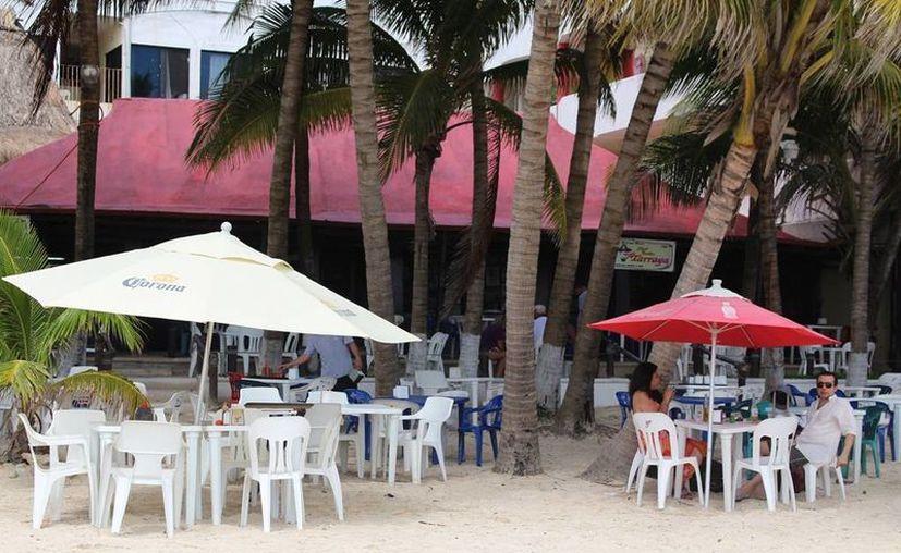 La ocupación en los restaurantes es de apenas el 30%.  (Irelis Leal/SIPSE)
