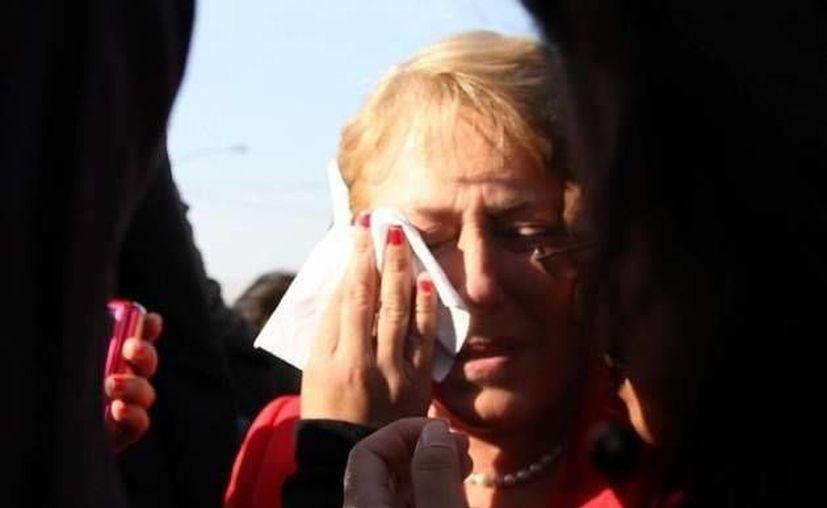Bachelet dijo que 'nada ni nadie' le impedirá seguir trabajando por Chile. (Agencias)