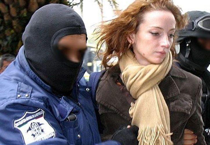 Cassez lors de son arrestation en 2005. (Notimex)