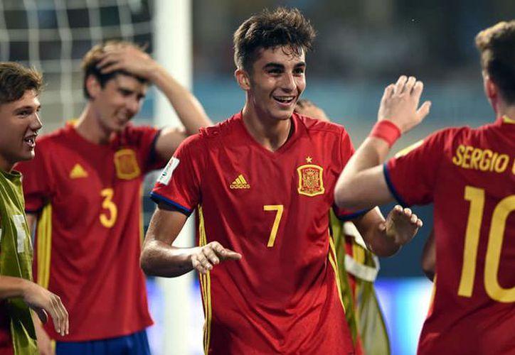 España jugará su cuarta final del Mundial Sub-17, contra el equipo de Inglaterra. (Foto: Medio Tiempo)