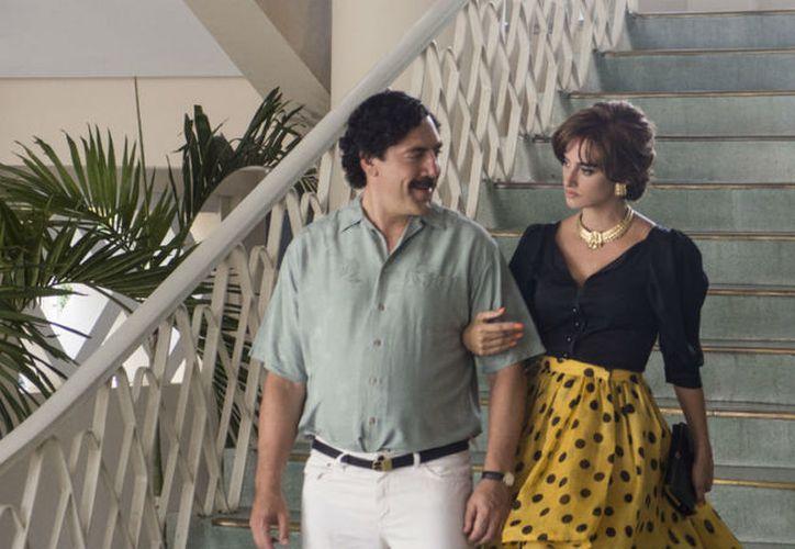 """Javier Bardem y Penélope Cruz estelarizan el filme """"Pablo Escobar, La Traición"""". (Gussi Cinema)"""