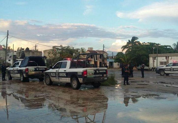 Los restos humanos fueron encontrados la Supermanzana 64, manzana 73 en Cancún. (Redacción/SIPSE)