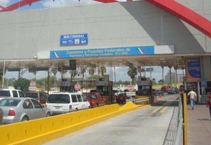 La pareja fue detenida en el Puente Internacional Gateway, en Matamoros, Tamaulipas, México. (Archivo/Excélsior)