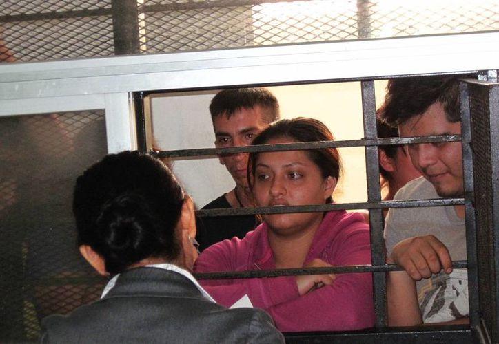Los detenidos por un presunto robo durante El Buen Fin se reservaron el derecho a declarar. (Milenio Novedades)