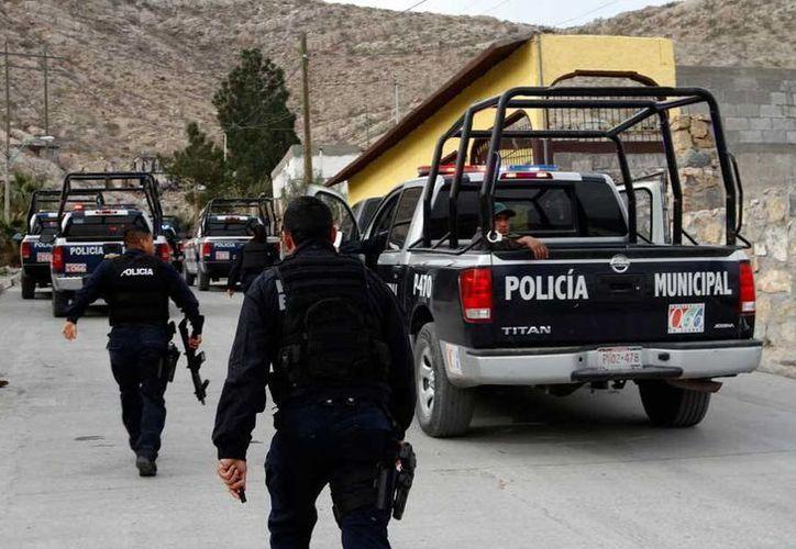 Algunos de los rifles G-36 de Heckler & Koch GmbH son utilizados por la Policía Municipal de Ciudad Juárez.  (diario.mx)